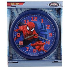 1000 Images About Spider Man Wall Clocks On Pinterest