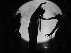 witches in the moonlight…