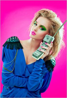 Crazy Makeup Pictures From the wild hair and makeup 80s And 90s Fashion, Look Fashion, Trendy Fashion, Women's Dresses, 1980s Hair, Crimped Hair, Power Dressing, Estilo Retro, Look Cool