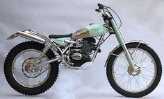 pinterest.com/fra411 #classic #motorbike #trial - Bianchi 203 Special Trial