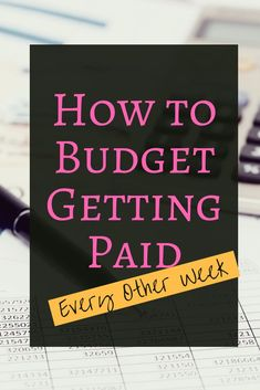 How to Rock Budgeting Biweekly – Finance tips, saving money, budgeting planner Budgeting Worksheets, Budgeting Finances, Budgeting Tips, Weekly Budget, Living On A Budget, Frugal Living, Create A Budget, Budget Help, Savings Plan