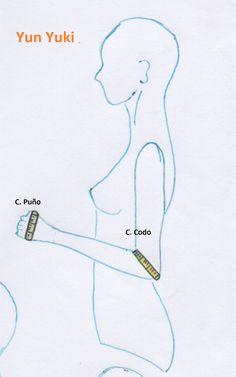 Contorno codo: doblando el brazo. colocando la cinta métrica alrededor del codo pasando por en medio del pliegue que se forma Contorno...