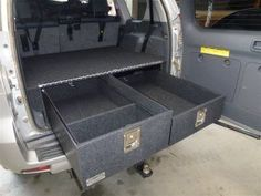 150 PRADO - STORAGE DRAWERS PACKAGE $1640 - Drifta Camping & 4WD