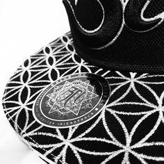 d4310494 Silver/Black Om AWAKEN V2 Snapback // Secret Pocket // Summer Music  Festival Hat // Sacred Geometry, Om Symbol, Eye of Horus