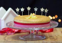 TORTA AL LIMONE E LE BRILLANTI STELLINE FABULOUS - #Fabulousity #limone #torta #stelline #caketopper