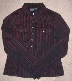 LIP SERVICE stripe shirt