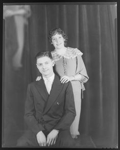 Portrait of the Davidsons. Photograph taken by Isaac Sievers for Sievers Studio in 1935. Sievers Studio Collection, Missouri History Museum.