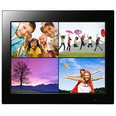 "FILEMATE 3FMPF215BK15-R Joy Series 15"" Digital Photo Frames, Black"