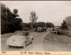 Trinity River bottom in the early 1950s