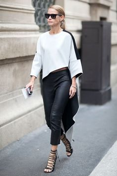 black and white #outfit #style