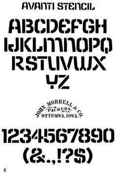 A anti Stencil