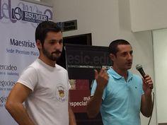 Junto a Paco Lorente en Trends & Tendencies organizado por ESUMER Medellín y ESIC