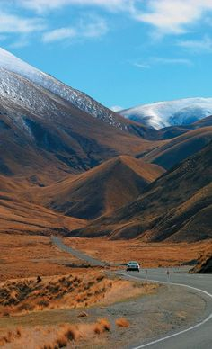 Lindis Pass, Otago, The South Island, New Zealand