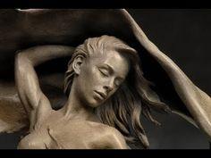 نحات الحلم والبراءة كارل جانسن Karl Jensen Sculpture Garden, Michelangelo, Carving, Statue, Art, Art Background, Wood Carvings, Kunst, Sculptures