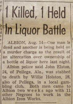 Clippings from the DETROIT TIMES Times Newspaper, Detroit