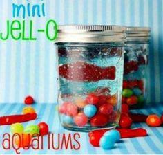 Mini Jello Aquariums