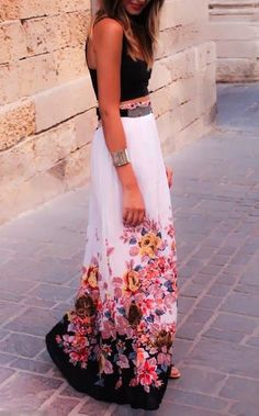 #street #style floral print @wachabuy