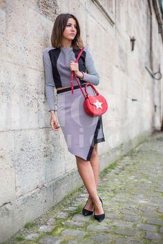 Paris Fashion Week 2015 credits: Andrea Pacini for DMODAGUIDE #pfw #paris #fashion #week #2015 #dmodaguide #hardkore79 #street #style #streetstyle #moda #blogger #model #look #outfit #woman #photo #Andrea #pacini #lovely #pepa #lovelypepa #salar #bag