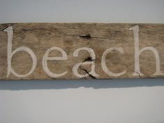 driftwood sign  at the beach.calm Driftwood Signs, Driftwood Art, Beach Signs, Craft Projects, Calm, Crafts, Diy, Patio, Home Decor
