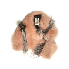 Fendi Bi-colour fox-fur scarf (€2.420) ❤ liked on Polyvore featuring accessories, scarves, pink multi, fox fur shawl, fendi, pink shawl, pink scarves and fendi scarves