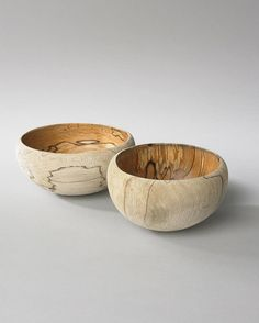 spalted wood bowls