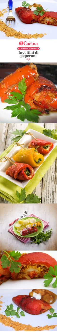 Involtini di peperoni Ethnic Recipes, Food, Essen, Meals, Yemek, Eten
