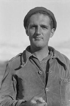 Spain - 1937. - GC - Thoman Mallon, Political Commissar, Machine-Gunner Company, MacKenzie-Papineau