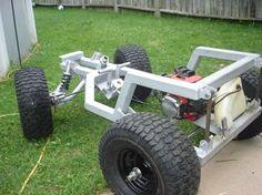 Click the image to enlarge Power Wheels Jeep, Homemade Go Kart, Kids Jeep, Go Kart Buggy, Go Kart Plans, Diy Go Kart, Karts, Drift Trike, Pedal Cars