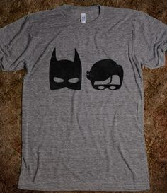 THE DARK SUPERHERO AND THE BIRD SUPERHERO. $24