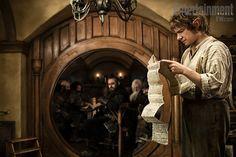 Bilbo is reading