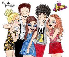 Ame la coreografía del #JamAndRoller!!! Ámbar, Matteo, Luna, Ramiro, Jim y…