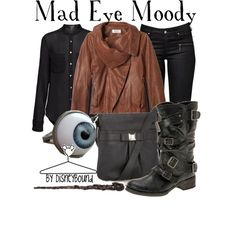 """Mad Eye Moody"" by lalakay on Polyvore"