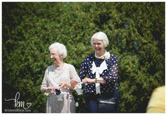 The Grandmothers were the flower girls! The Davis Wedding � A Nautical Themed Wedding at the Montage in Indianapolis