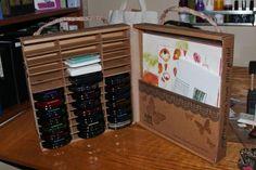 Cape Cod Scrapper: Ink Pad PB Storage revisited