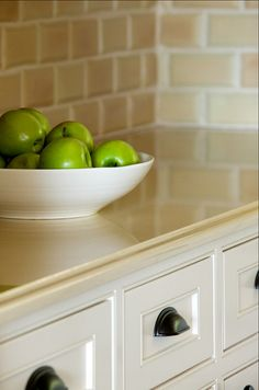 Kitchen Cabinet Paint Color: Antique White by Sherwin Williams - SW 6119