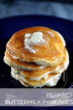 Perfect Buttermilk Pancake Recipe - Cooking | Add a Pinch