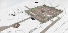 Roman fort at cramond, digital visualisation by Smart History.