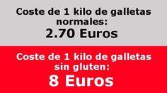 Petición · Gobierno de España: facilite la compra de alimentos sin gluten para celíacos · Change.org