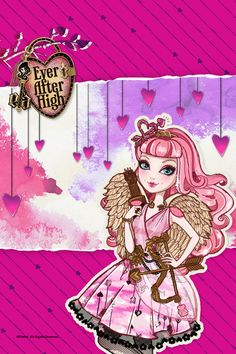 True Hearts Day Cupid background