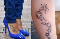 tattoo-motive-für-frauen-gestirn-auf-dem-spann-unterarm