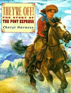 Cover image for They're off! : the story of the Pony Express