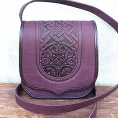 Black leather purce Genuine leather bag Crossbody woman's