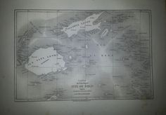 Antique French Map of Fidji islands 1860 by reveriefrance on Etsy