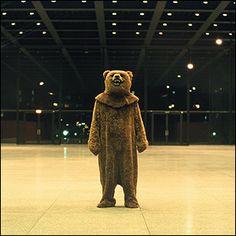 Creepy bear.
