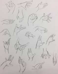 Drawings Of Hands: Quick Sketches & Hand Studies hand drawing - Drawing Tips Hands Reference Drawing, Drawing Anime Hands, Gesture Drawing Poses, Hand Reference, Art Reference Poses, Drawing Tips, Drawing Sketches, Drawing Drawing, Drawing Body Poses