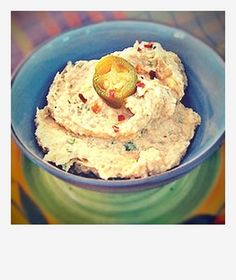 Jalapeno and Lime Hummus--different and delicious! Great spring/summer recipe!