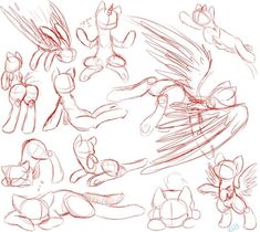 Image result for mlp fighting poses