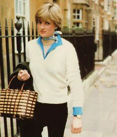 lady diana, shows that the classic/sloane ranger look- still works!