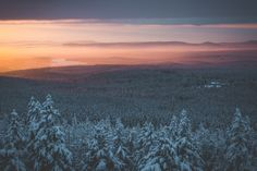 Sunrise over the harz mountains. by Johannes Hulsch #xemtvhay