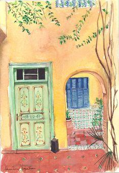 Maison Jaune Maroc